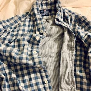 Vineyard Vines Men's check shirt Size Large
